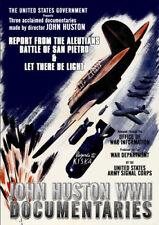 John Huston WWII Documentaries [New DVD]