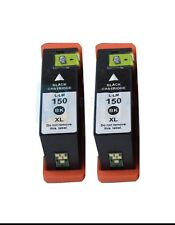 2x generic 150xl Black ink cartridges for Lexmark Pro715 Pro915 S315 S415 S515