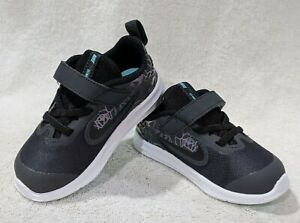 Nike Downshifter 9 Rebel (TDV) Anthracite/Black Toddler Girl's Shoes-Asst Sz NWB