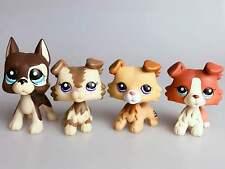 4 Littlest Pet Shop Rare LPS Figure Collie Dog Collection #2210 #1542 #2452 NIC