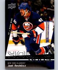 (HCW) 2009-10 Upper Deck #244 Joel Rechlicz NHL RC Rookie Young Guns 04605