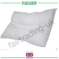 2x New Anti Snore Pillow Orthopaedic Snooze Control Head Support Hollowfibre