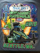 NHRA DRAG RACING 2019 NORTHWEST NATIONALS Blue T- SHIRT  SIZE 3X