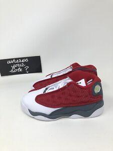 Nike Air Jordan 13 XIII Gym Red Flint Size 9c PS Preschool New DS 414581-600