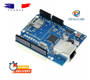 Ethernet Shield W5100 SD & UNO Arduino comp.