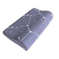 Cotton Pillowcase Pillow Cover Bed Sleeping for Memory Foam Pillow Latex Pillow