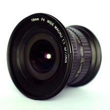 Jintu 15mm F4 1:1 Wide Angle Macro & Shift Lens F Canon 750D 760D 5DII 5DIII Cam
