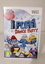 I Puffi Dance Party Nintendo Wii  ITALIANO COME NUOVO COMPLETO JUST DANCE DISNEY