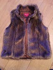 Monsoon Women's Faux Fur gilet Coats & Jackets