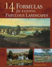 14 Formulas for Painting Fabulous Landscapes, Nuss, Barbara, Good Condition, Boo