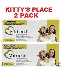 Valuheart Heartworm Tablets for Large Dogs 21-40kg 6 Tablets - 2 PACK