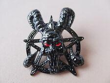 Pin satan gothique pentagramme - 68