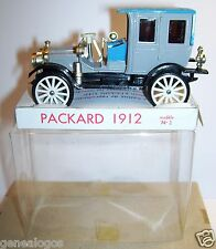 OLD MINIALUXE MADE IN FRANCE PACKARD 1912 N°2 BOX 1/43 IN BOX