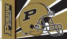 New listing Purdue Banner Flag Sign Boilermakers Helmet 3 x 5 Ncaa Licensed