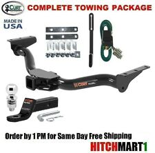 "FITS 2000-2004 NISSAN XTERRA CLASS 3  CURT TRAILER HITCH PACKAGE 2"" TOW RECEIVER"