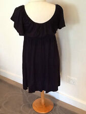 Great Sz XS 6 8 Country Road Black Jersey Dress