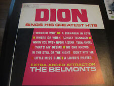 Dion; Sings His Greatest Hits on LP