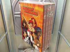 REAL BOUT HIGH SCHOOL SAMURAI GIRL 4 DVD BOX SET NEW TOKYOPOP CD soundtrack R1