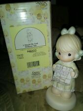 Enesco 1991 Precious Moments I Would Be Lost Without You Figurine