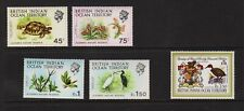 British Indian Ocean Territory - #39-43 mint, cat. $ 39.25
