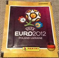 "5 x Panini Euro 2012 Sealed Packets of 5 Stickers. ""German"" (25 stickers)"