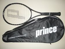 PRINCE EXO3 BLACK MP 100 TENNIS RACQUET 4 1/2 (NEW STRINGS)