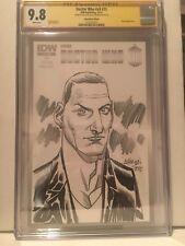 IDW BBC COMICS DOCTOR WHO #15 Dave Johnson original art of 9th Doctor CGC SS 9.8