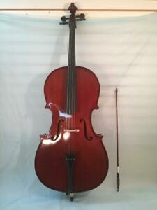 Celestini 4/4 Size 'Cello-Brand New-with Shop Setup-Hard Case and Bow Included!
