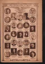 World War I Roll of Honor 1919 Deaths of Heros WWI #59