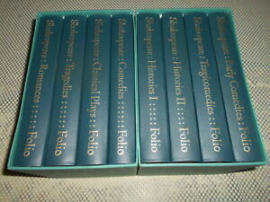 The Complete Plays by William Shakespeare. 8 volumes. Folio Society in slipcases