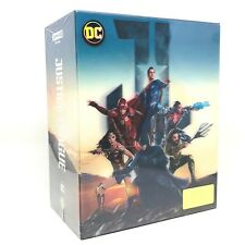 DC Justice League One Click Box Set 3D+4K UHD Blu-ray Steelbook HDZeta Exclusive