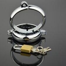 Steel Handcuffs Ankle Wrist Cuffs Restraint Metal Cuffs Lock Roleplay Couple new