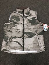 6103c536ac0cb Cabela's Womens Ultra-Pack Prima-loft Series Down Outfitter Camo Hunting  Vest XL