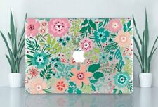 Flowers Floral Macbook 16 Air 11 13 Pro 13 15 2019 Top Bottom Printed Cover Case