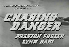 CHASING DANGER (1939) DVD PRESTON FOSTER, LYNN BARI