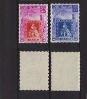 ITALY 1951 Toscana Stamps Mint **  Sc.568-569 (Sa.653/654)