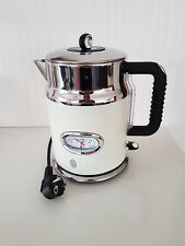 Russel Hobbs Wasserkocher Retro Vintage in Farbe Cream 1,7Liter