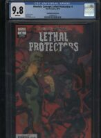Absolute Carnage: Lethal Protectors #1 CGC 9.8 Smallwood VARIANT COVER Venom