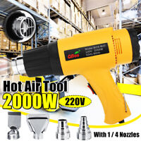 2000W 220V Handheld  Hot Air Tool Electric Hot Air Heater 4 Nozzles HOT 2020