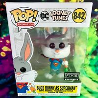 Bugs Bunny as Superman FYE Exclusive DC Looney Tunes Funko POP! #842 *Mint*