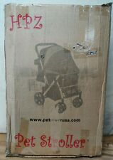 New Hpz Pet Rover Premium Heavy-Duty Sm/Md/Lg Dog & Cat Carriage Stroller