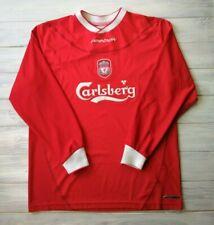Liverpool jersey 38/40 2002 2004 long sleeve home shirt soccer football Reebok