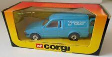 Corgi Ford Escort Van Chubb Home Protection Vintage 1984 Original Box