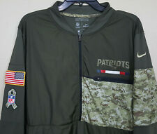 NIKE NEW ENGLAND PATRIOTS SALUTE-TO-SERVICE JACKET TEAM ISSUED RARE (SIZE LARGE)
