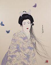 Hisashi Otsuka (Japanese b.1947 )Original Lithograph Print Hand Signed Numbered