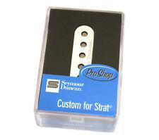 Seymour Duncan SSL-6 Custom Flat Pole Pickup for Fender Strat® 11202-08