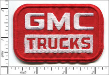 40 Pcs Embroidered Iron on patches GMC Trucks Red/White AP063gM1