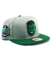 Hulk Era 9fifty Snapback Hat Adjustable Cap Avengers Marvel Comics Green