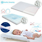 Baby PILLOW Memory Foam Thermoactive Anti Flat Head Syndrom for Crib Cot Bed