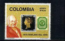 PENNY BLACK- GREAT BRITAIN.,-  COLOMBIA  No. 1>>ANNIV.  ROWLAND HILL  1979